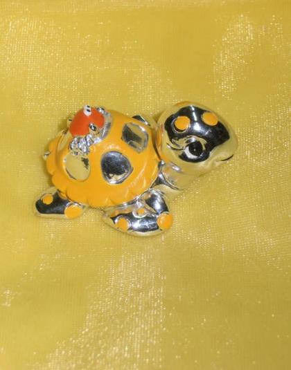 Tartaruga gialla piccola