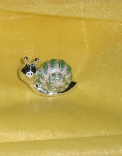 Chiocciolina Verde a Rombi